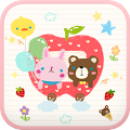 Free Happy Apple go sms theme APK for Windows 8