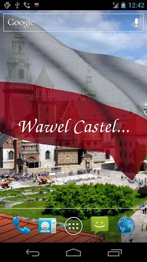 【免費個人化App】3D Poland Flag Live Wallpaper+-APP點子