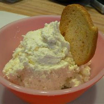 Dill, Feta and Garlic Cream Cheese Spread