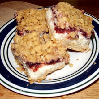 Cranberry Cheese Bars