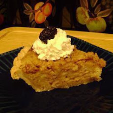 Apple Bread Pudding Tart