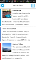 Screenshot of Tenerife Offline Map & Guide