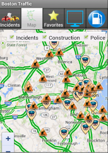 Boston Traffic - screenshot