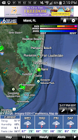 Screenshot of NBC 6 South Florida Weather