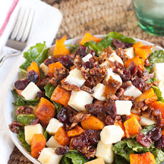 Sweet and Salty Fall Harvest Salad