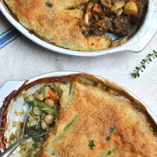 Beef and Vegetable Pot Pies