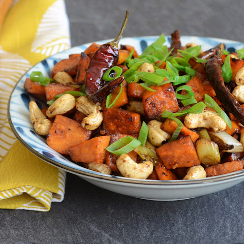 Kung Pao Sweet Potatoes