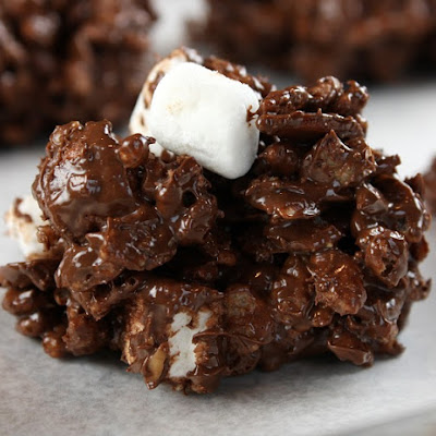 Rocky Road- No Bake Cookies