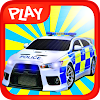 3D Police Car Parking Lot