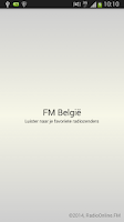Screenshot of FM België