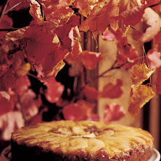 Pear-Cranberry Upside-Down Cake