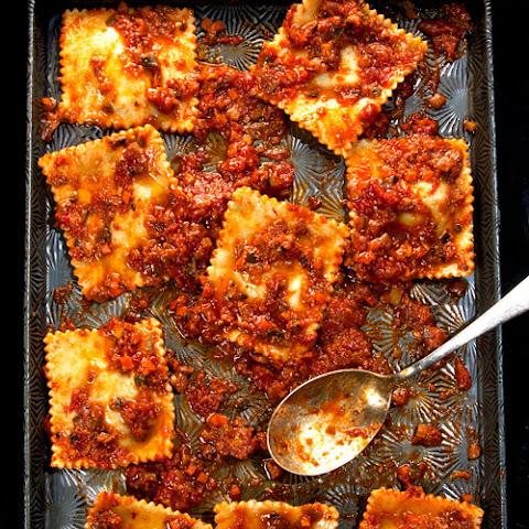Tomato, Ricotta, Kale & Basil Lasagne Recept | Yummly