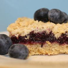 Blueberry Crumb Tray Bake