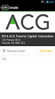 Screenshot of ACG Toronto Capital Connection