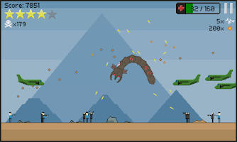 Screenshot of Prehistoric worm