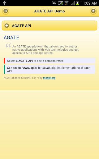 Agate API