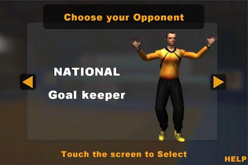 Handball 7m Contest - screenshot
