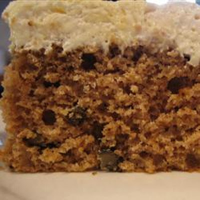 Never Fail Applesauce Spice Cake