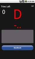 Screenshot of Morse Code Trainer