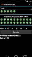 Screenshot of Resultats Keno