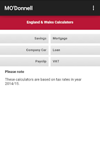 Accountancy Services - screenshot