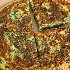 Light Spinach and Feta Frittata
