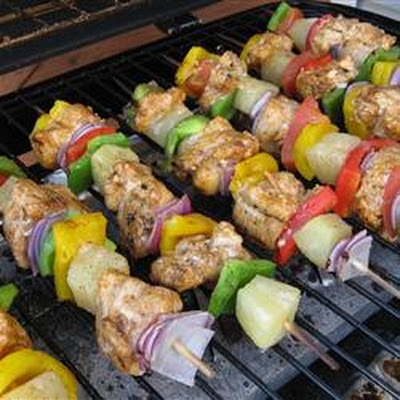 Chili Lime Chicken Kabobs