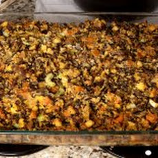 Wild Rice and Cornbread Stuffing Recipe