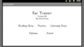 Screenshot of Ear Trainer