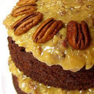 Gorgeous German Chocolate Cake