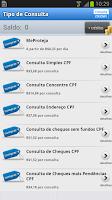 Screenshot of Consulta CPF / CNPJ