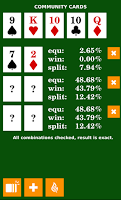 Screenshot of Poker Calculator