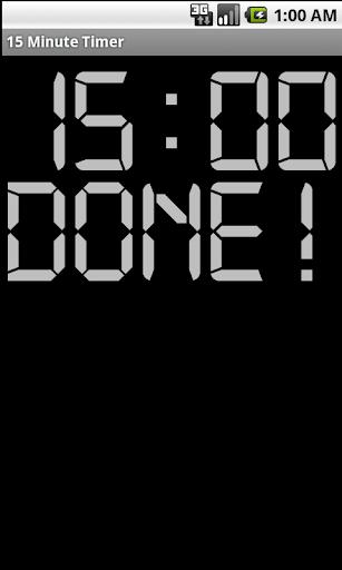 免費生產應用App 15 Minute Timer 阿達玩APP