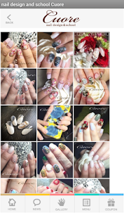 nail design and school Cuore - screenshot