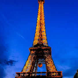 Eiffel  Tower by Tarun Sethi - Buildings & Architecture Statues & Monuments ( monuments, paris, eiffel tower, tower, statue, towers, eiffel, monument, eifel,  )