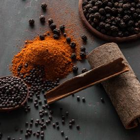 Spices by Avi Chatterjee - Food & Drink Ingredients ( mustard, spice, pepper, cardamom, peppercorn, masala )