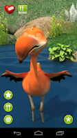 Screenshot of Talking Gary Flamingo