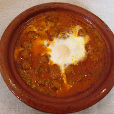 Bus Station Kefta With Egg and Tomato