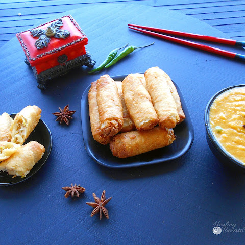 Tai Pei Mini Vegetable Spring Rolls with Mango Dip