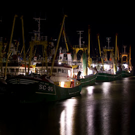 by Wendy Faber - Novices Only Objects & Still Life ( harlingen, fishing boats )