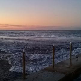 Wall Underwater by Kamila Romanowska - Instagram & Mobile Other ( australia, ocean, sunrise, beach, morning, sydney )