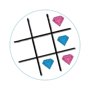 Tic Tac Toe Jewels & Gems free