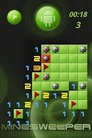Screenshot of aiMinesweeper (minesweeper)