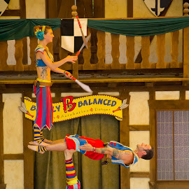 Barely Balanced by Bijon Panda - People Musicians & Entertainers ( festivals, balancing acts, entertainers, jugglers, entertainment )