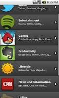 Screenshot of Essential Apps