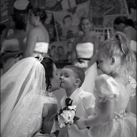 Bride and son special moment  by Brett Giddings - Wedding Other