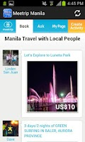 Screenshot of Manila Philippine Travel Guide