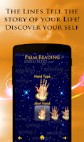 Screenshot of Palm Reading