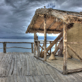 Bay of Bones by Tipa Marius - Buildings & Architecture Public & Historical ( hdr, bay of bones, ohrid,  )