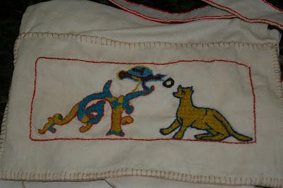 Besace d'après tapisserie de Bayeux SG1L9303